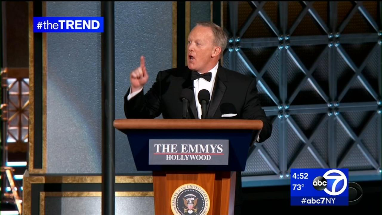 The Trend: Sean Spicer surprise appearance at The Emmys