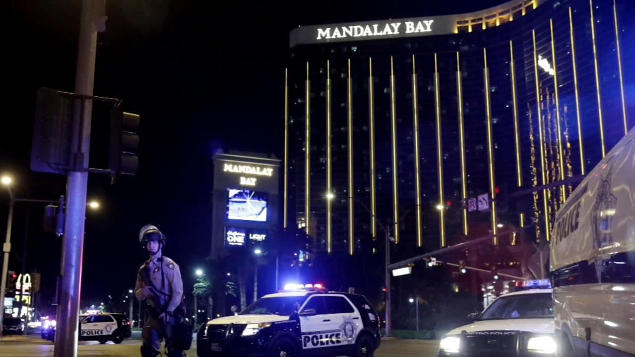 Police radio: Shots fired from Mandalay Bay...many people down