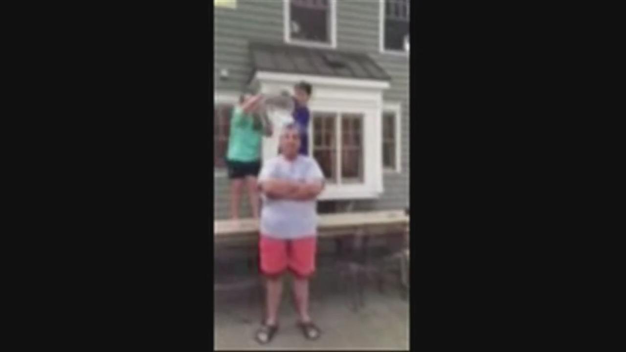 Christie ALS Ice Bucket Challenge