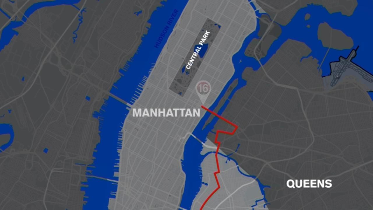 TCS New York City Marathon miles: Miles 16 through 18