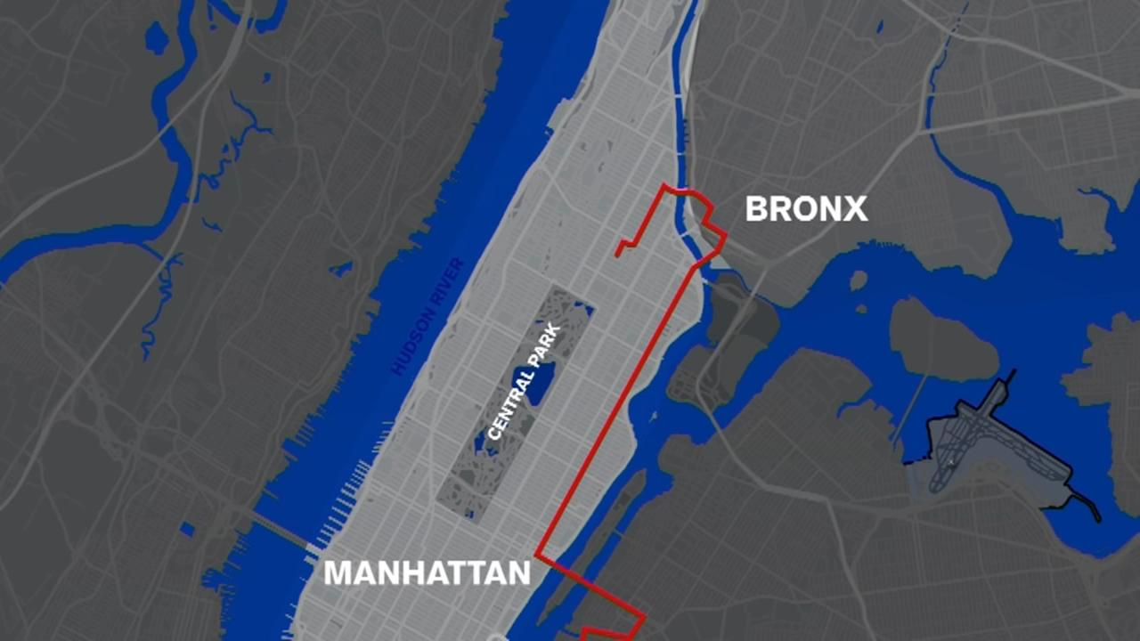 Miles 22 through 24: The TCS New York City Marathon course