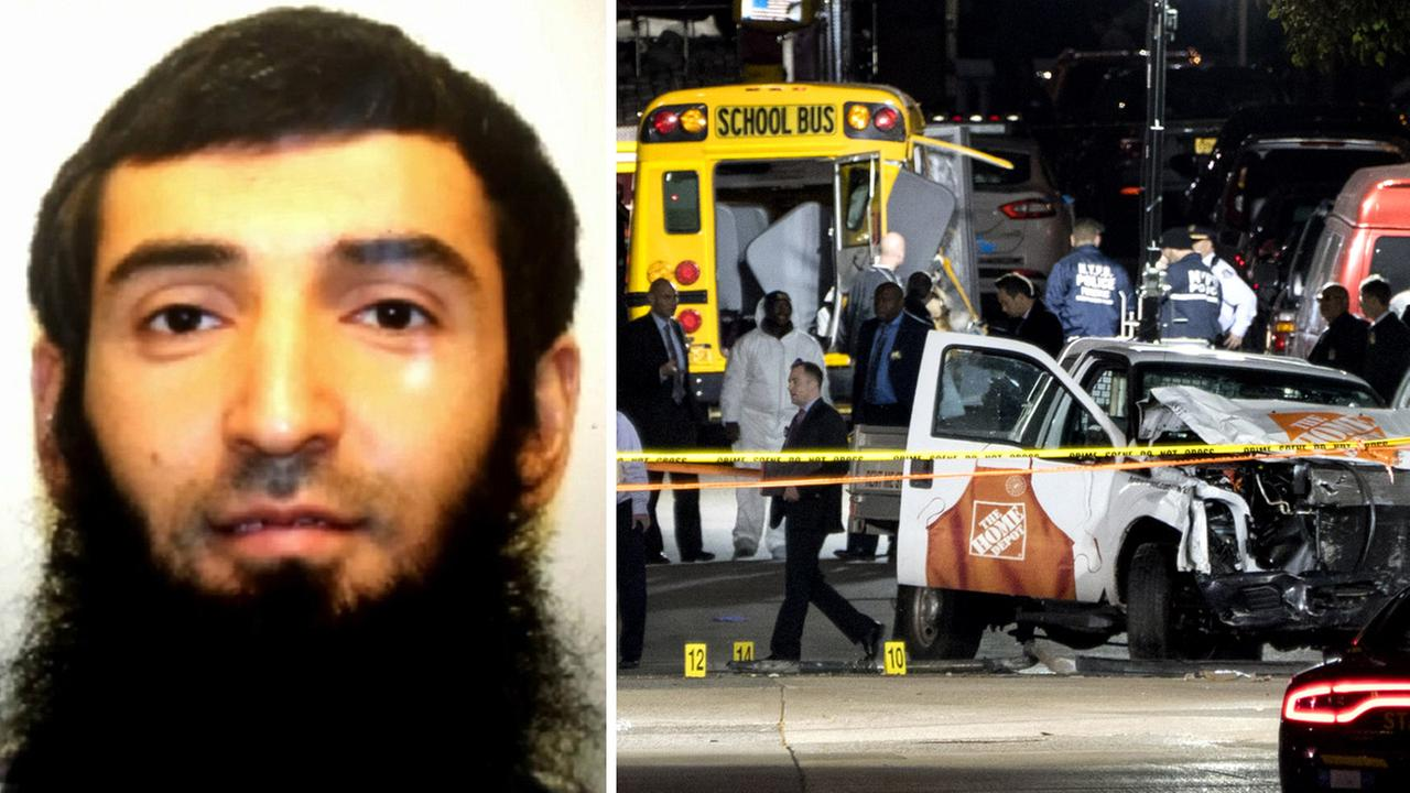Grand jury returns 22-count indictment for bike path terror suspect in NYC