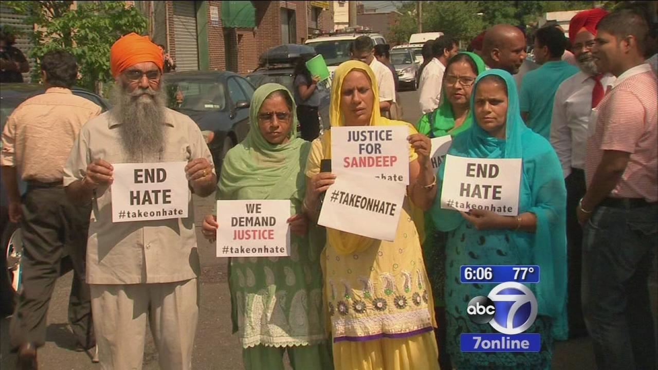 Members of Sikh community asking NYPD to investigate hate crimes