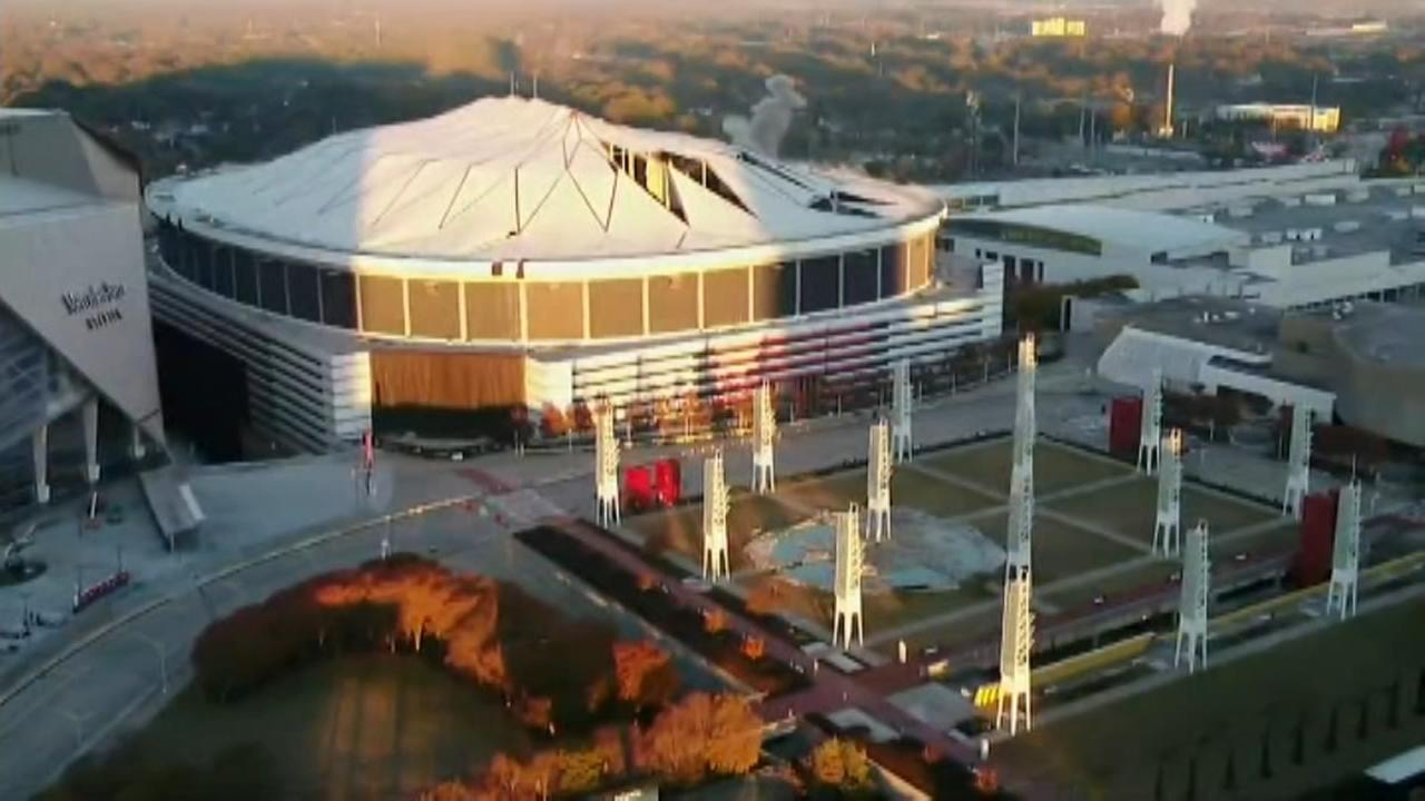 Georgia Dome brought down in implosion