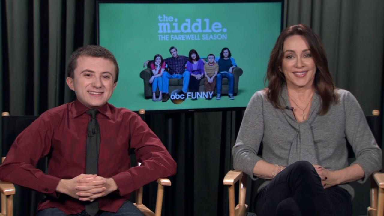 Patricia Heaton and Atticus Shaffer talk about The Middles 200th episode