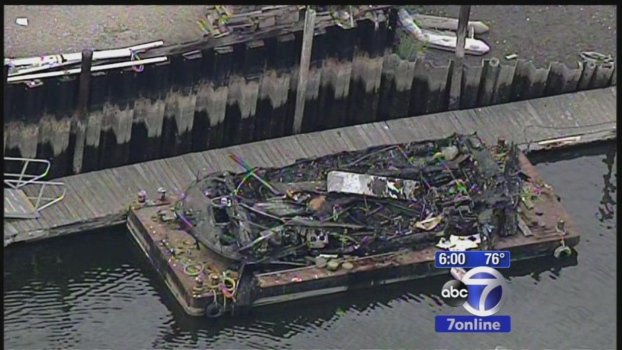 Dock worker returns to work after saving lives from boat explosion