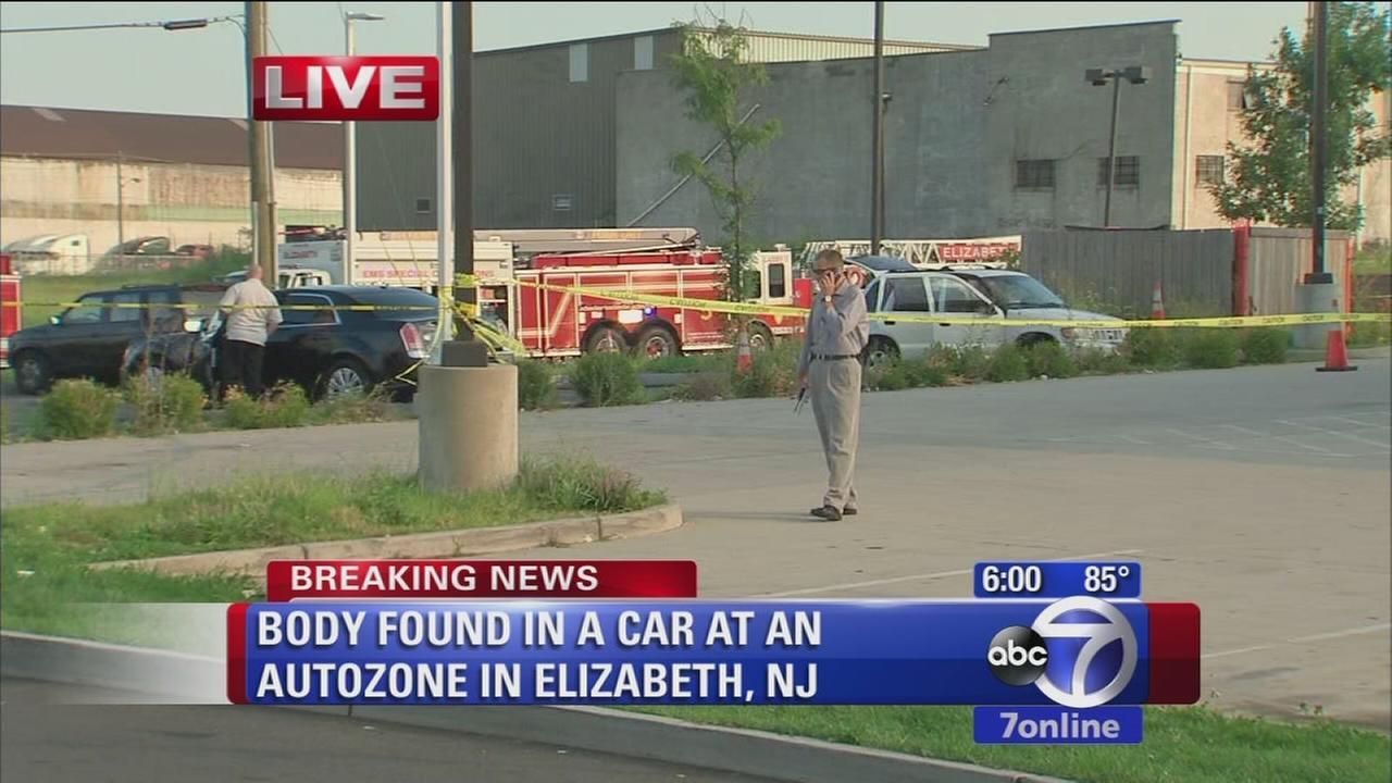 Body found in car at Elizabeth AutoZone
