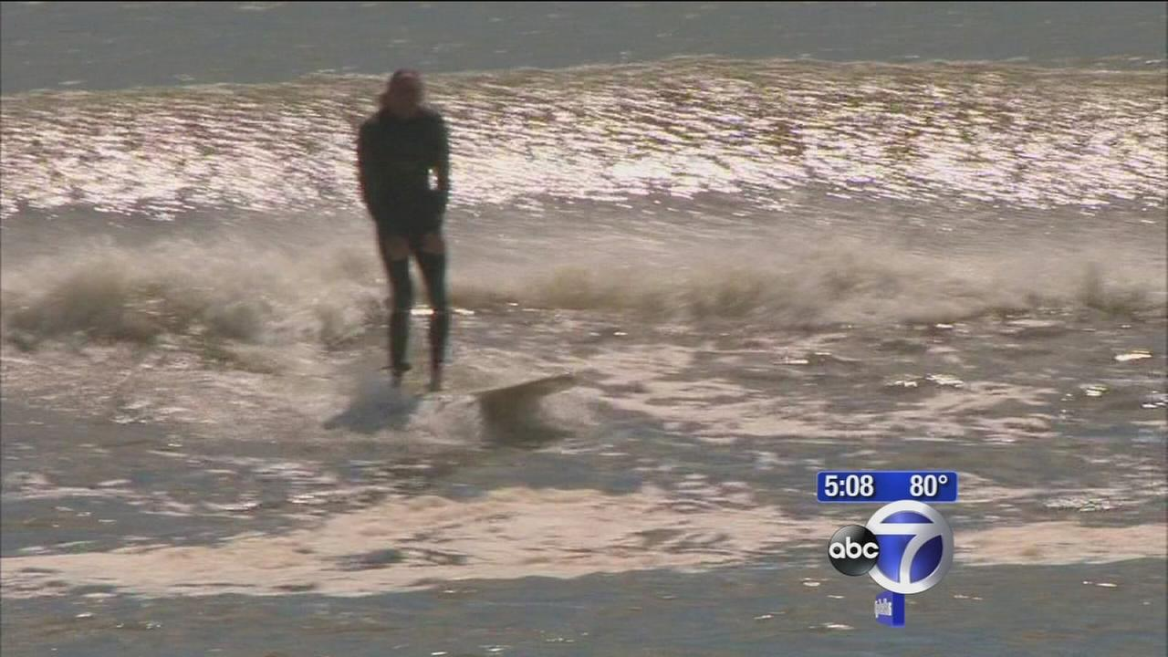 Rip Currents cause some L.I. beaches to close