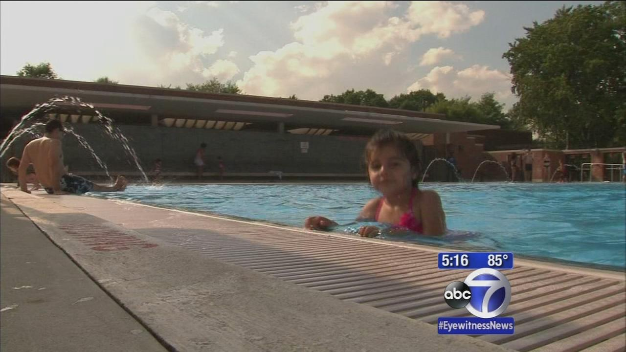 Attendance down at New York City pools