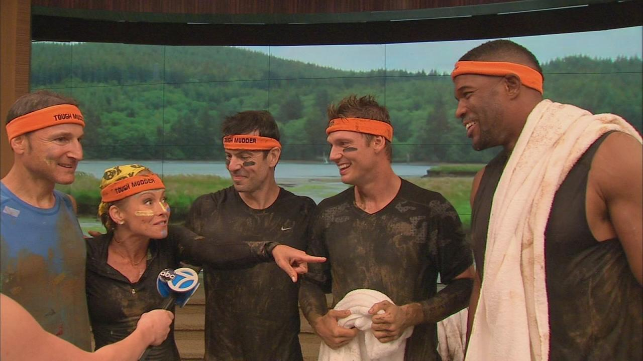 Kelly, Michael, Jordan, Nick, and Gelman talk about the Tough Mudder
