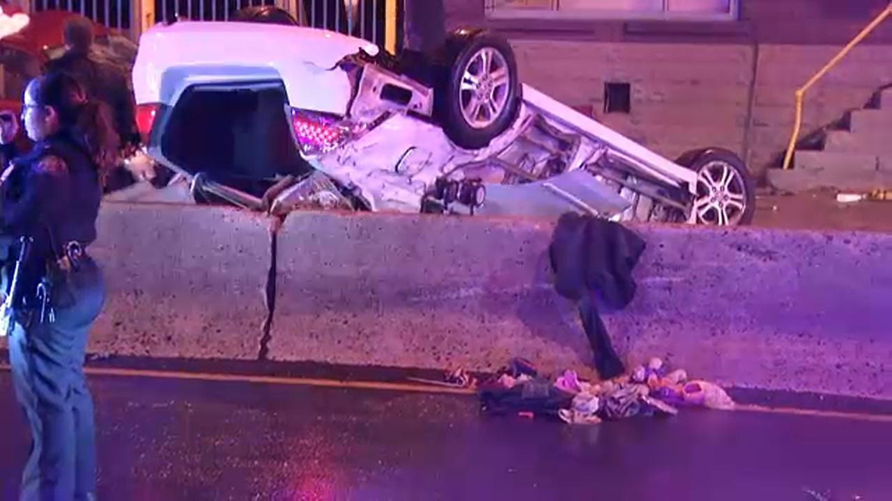 Victims identified following 2-car crash in Jersey City