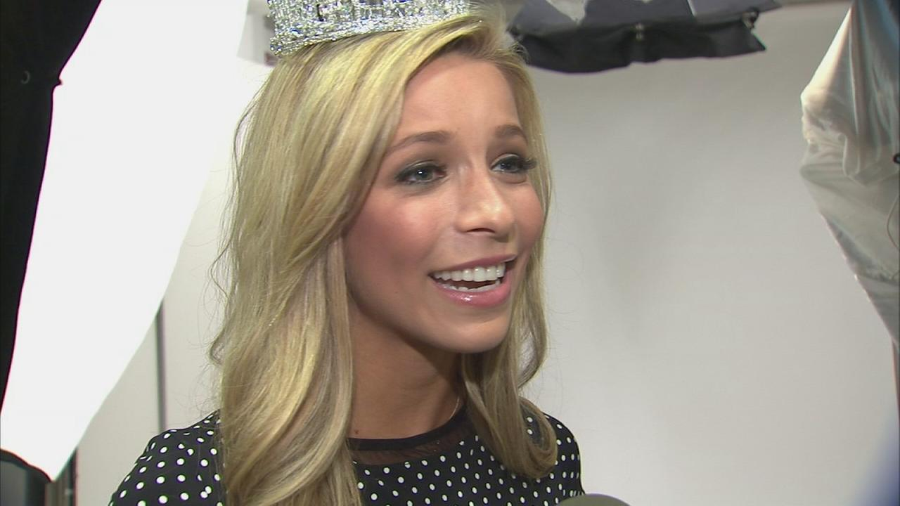 A chat with Miss America: So how does that crown stay on her head?