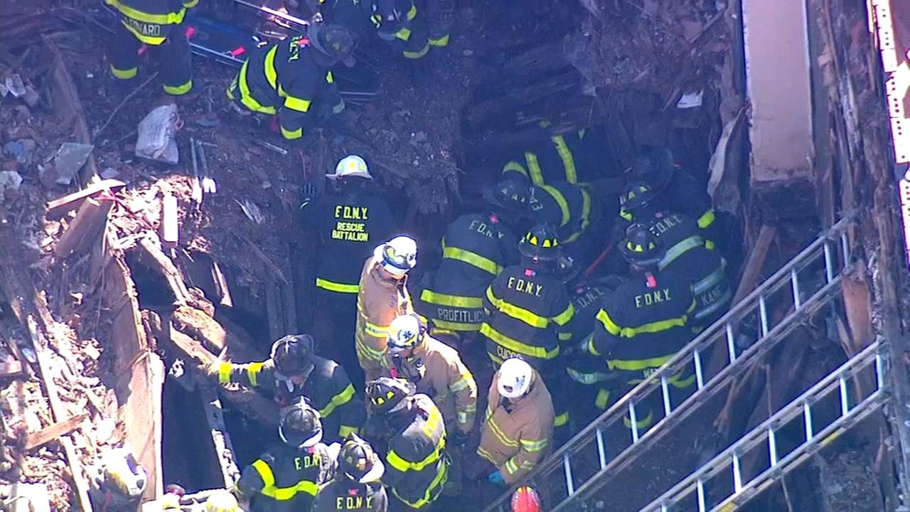 Construction worker rescued in Brooklyn