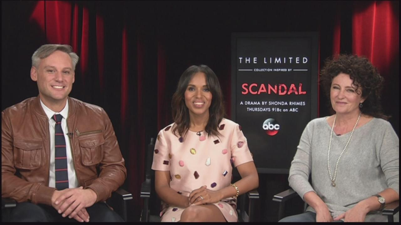 Scandal star, costume designer, and The Limited designer talk new line