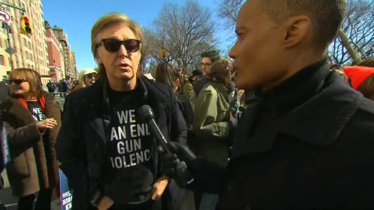 Paul McCartney: Best friend killed in gun violence