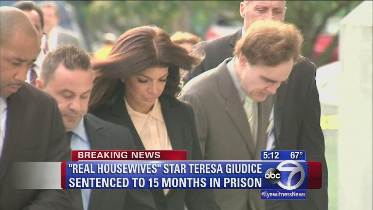 Real Housewives of New Jersey couple sentenced to prison