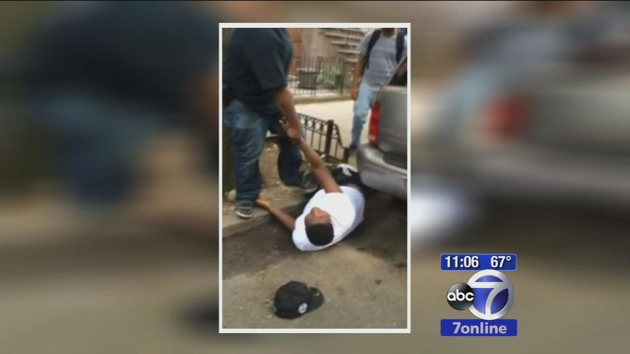Teenager allegedly knocked out during arrest, caught on camera