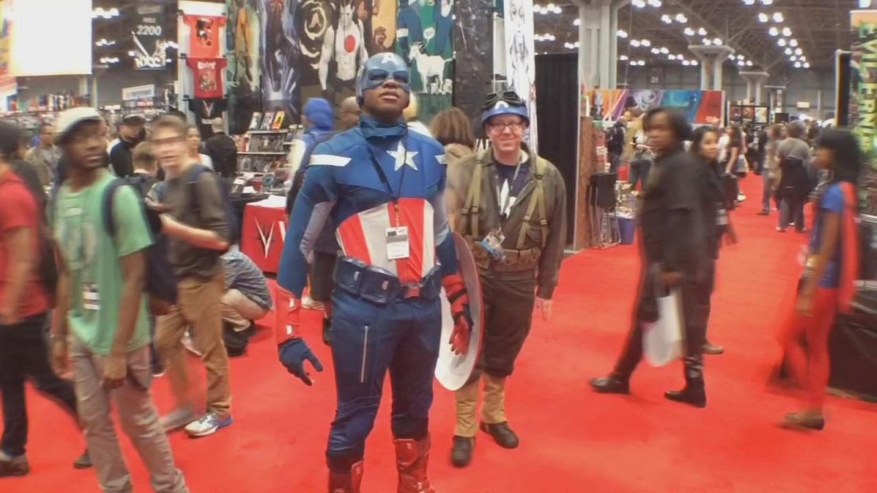 Top 7 costumes at Comic Con in New York City