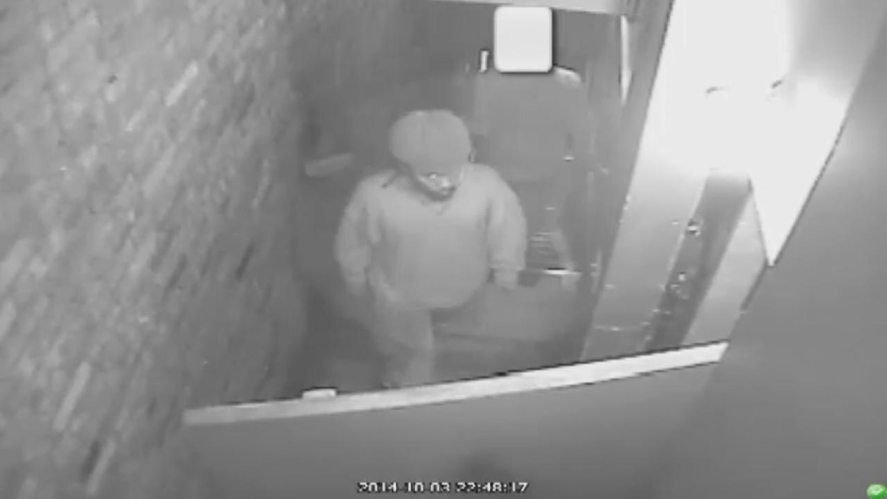 Surveillance of attempted rape suspect in Midtown