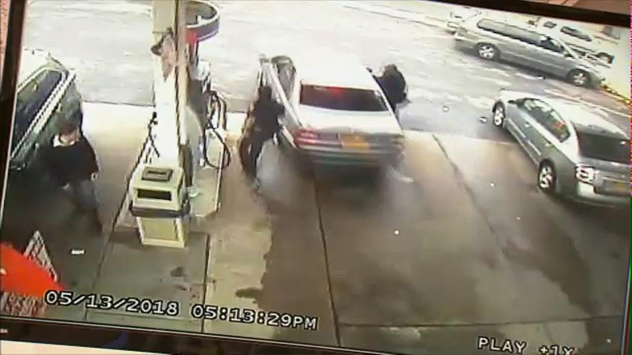 police officer dragged by car hempstead nassau county