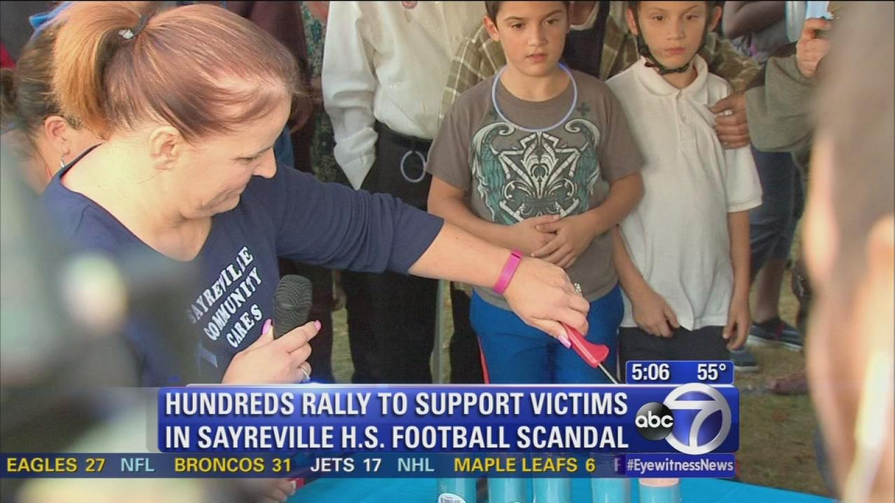 Candlelight vigil for Sayreville hazing victims