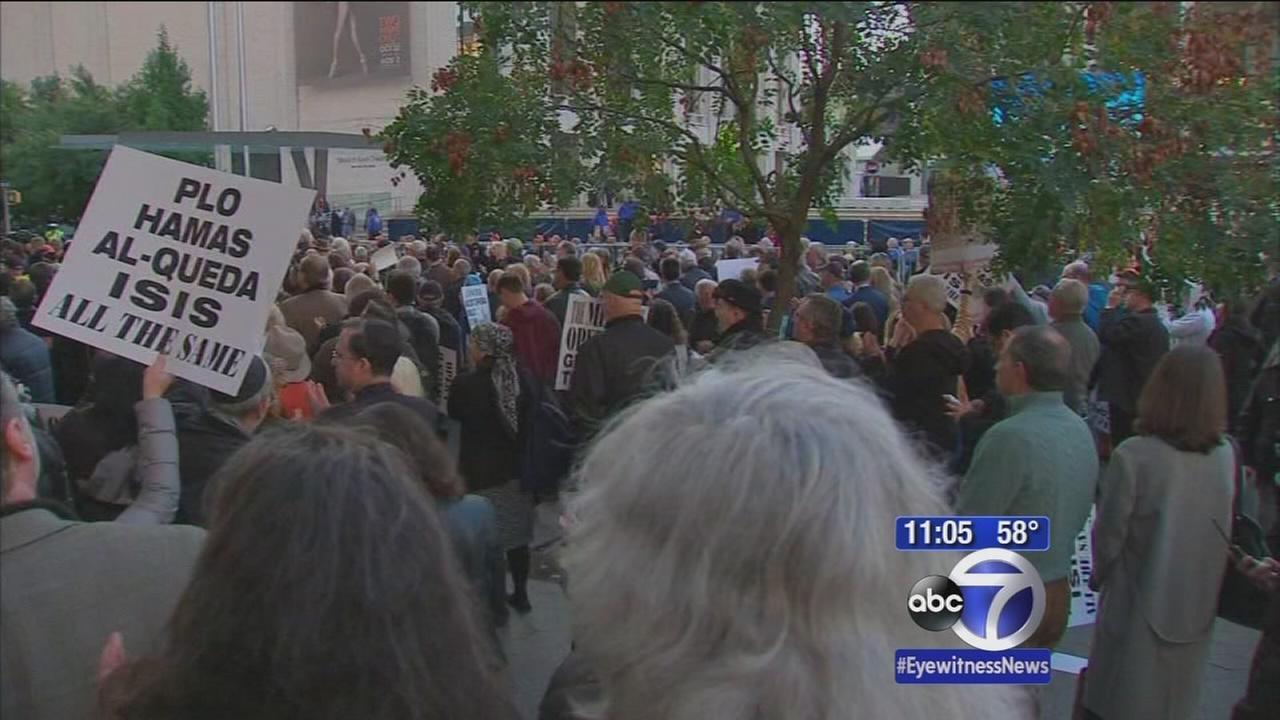 Protests held over Met opera