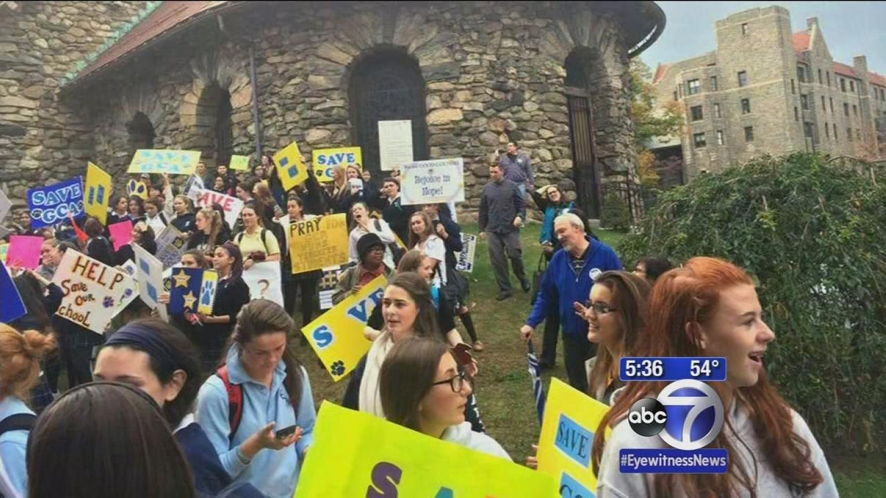 Students, parents, teachers fight for school with uncertain future,