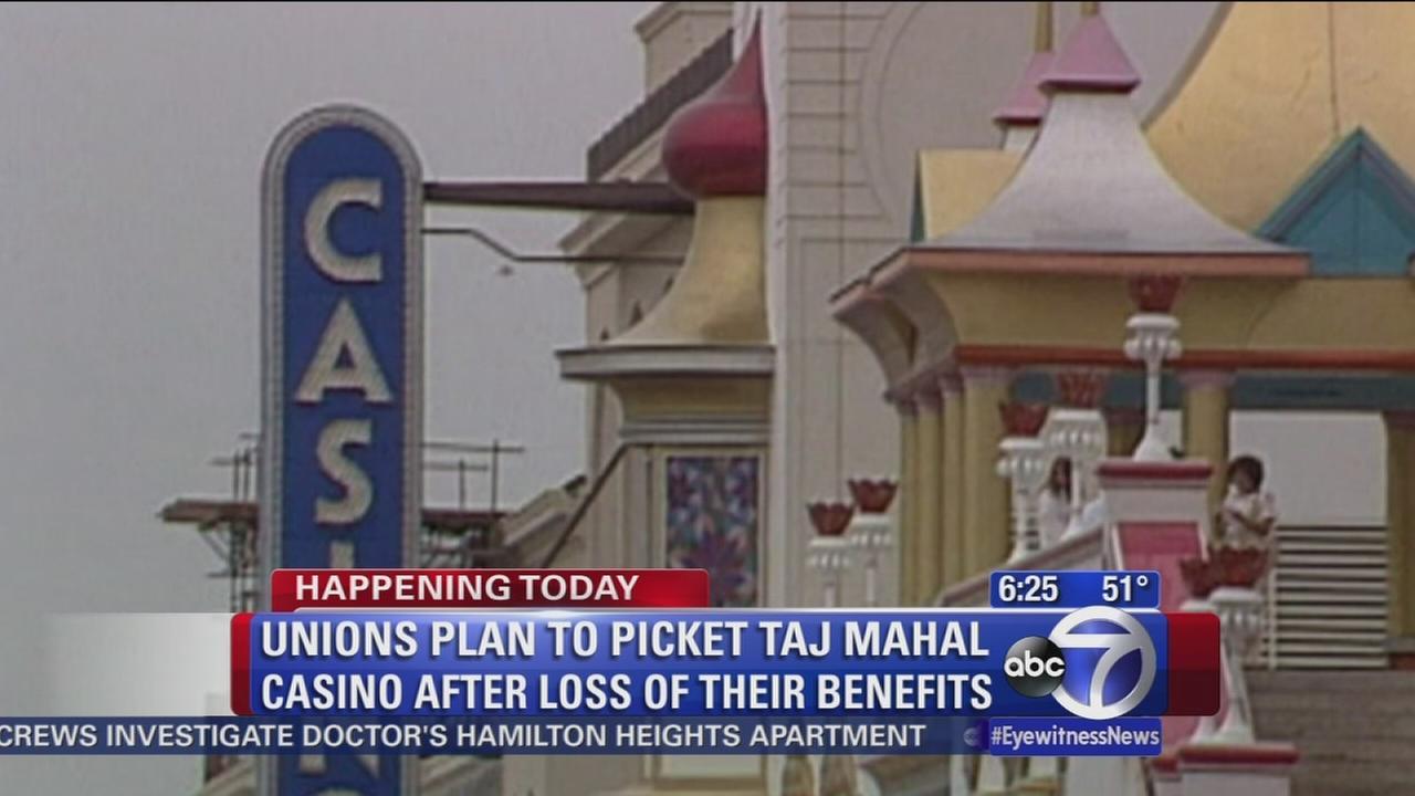 Taj Mahal protest