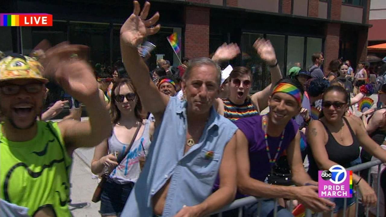 2018 NYC Pride March - Part 2