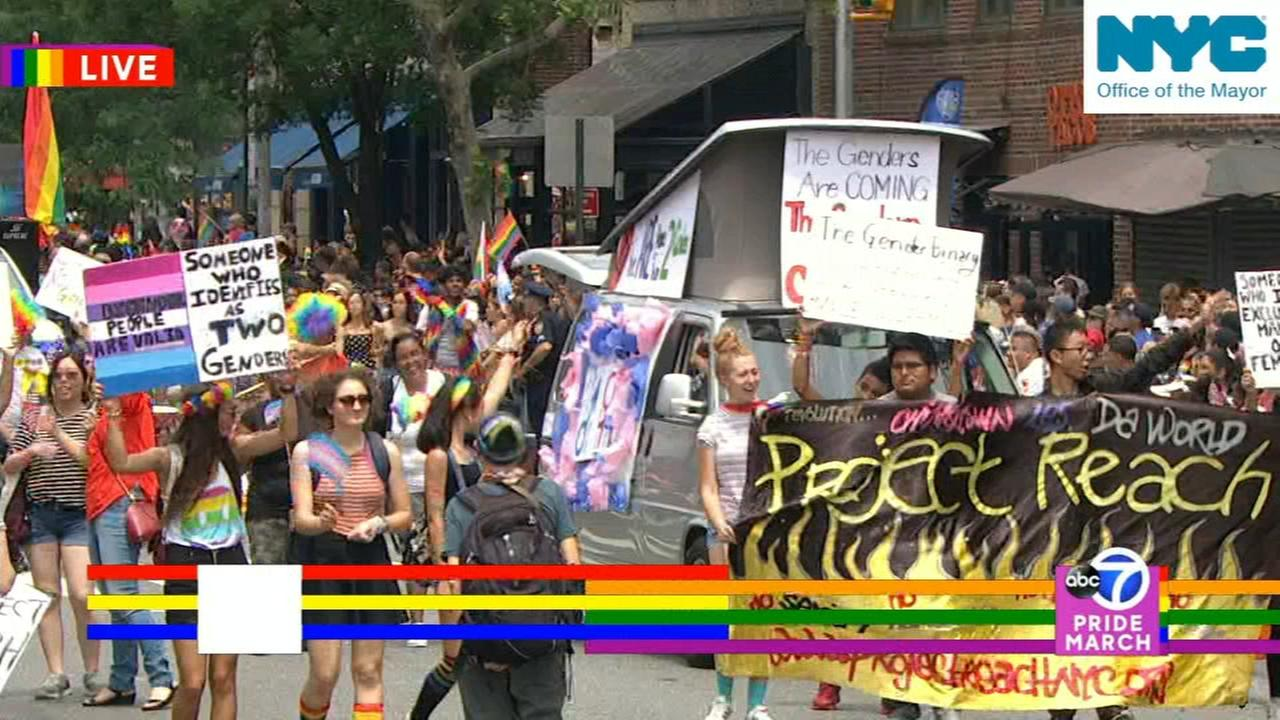 2018 NYC Pride March: Part six