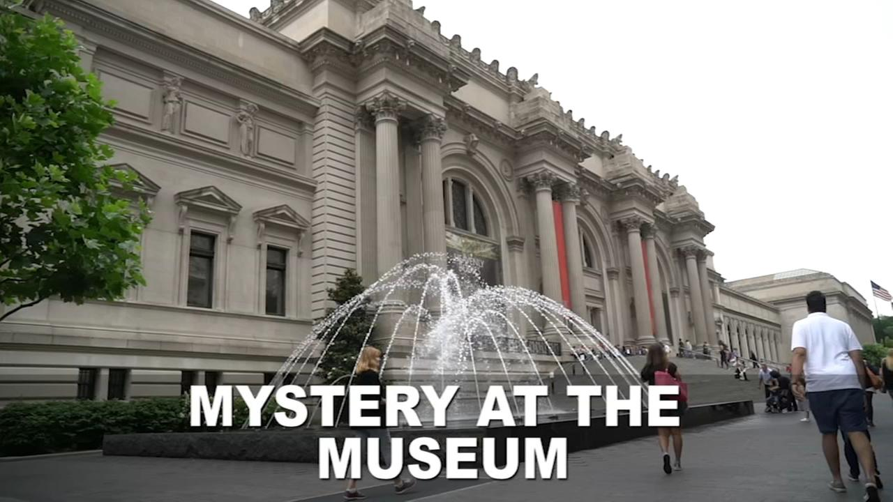 Mystery at the Metropolitan Museum of Art
