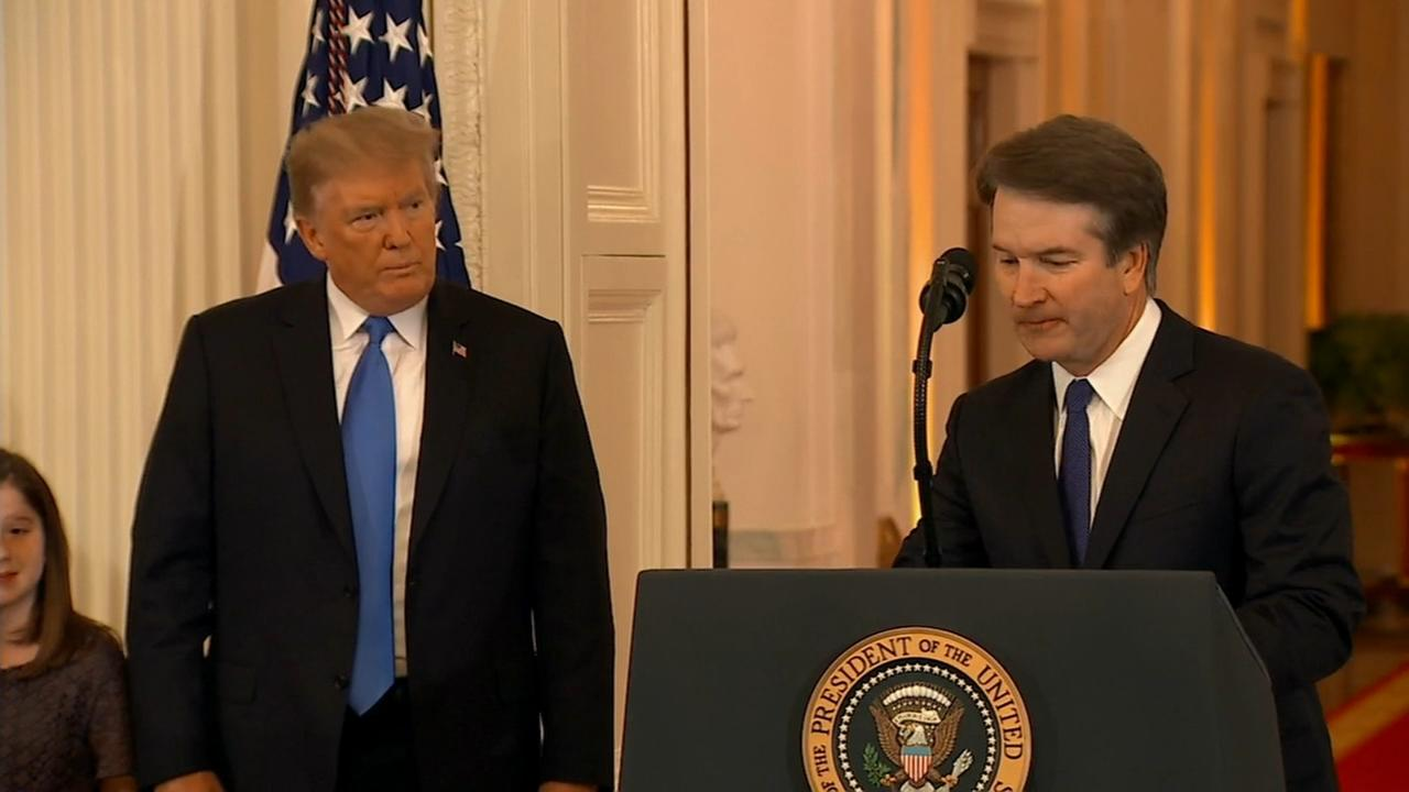 President Trump nominates Judge Brett Kavanaugh to Supreme Court