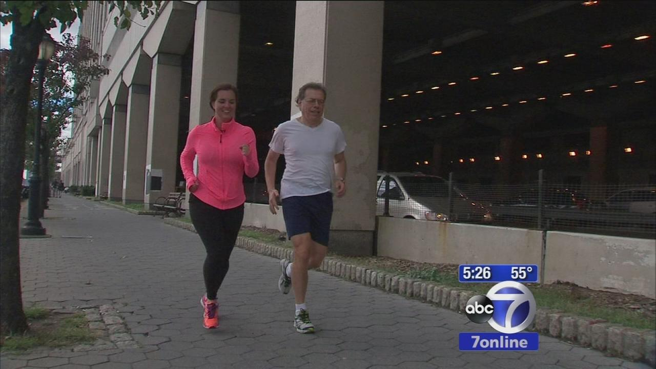 Runner recovers from injury to race in marathon