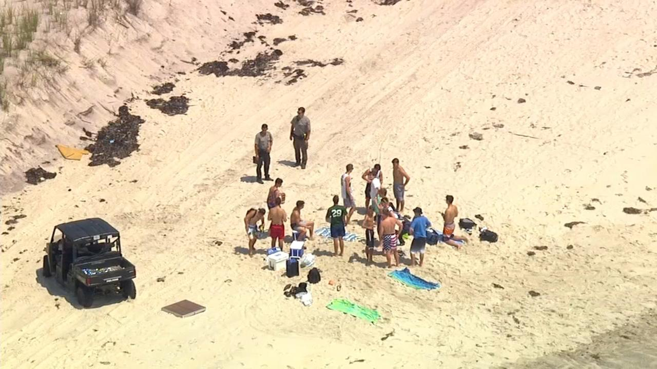 2 people bitten off Fire Island