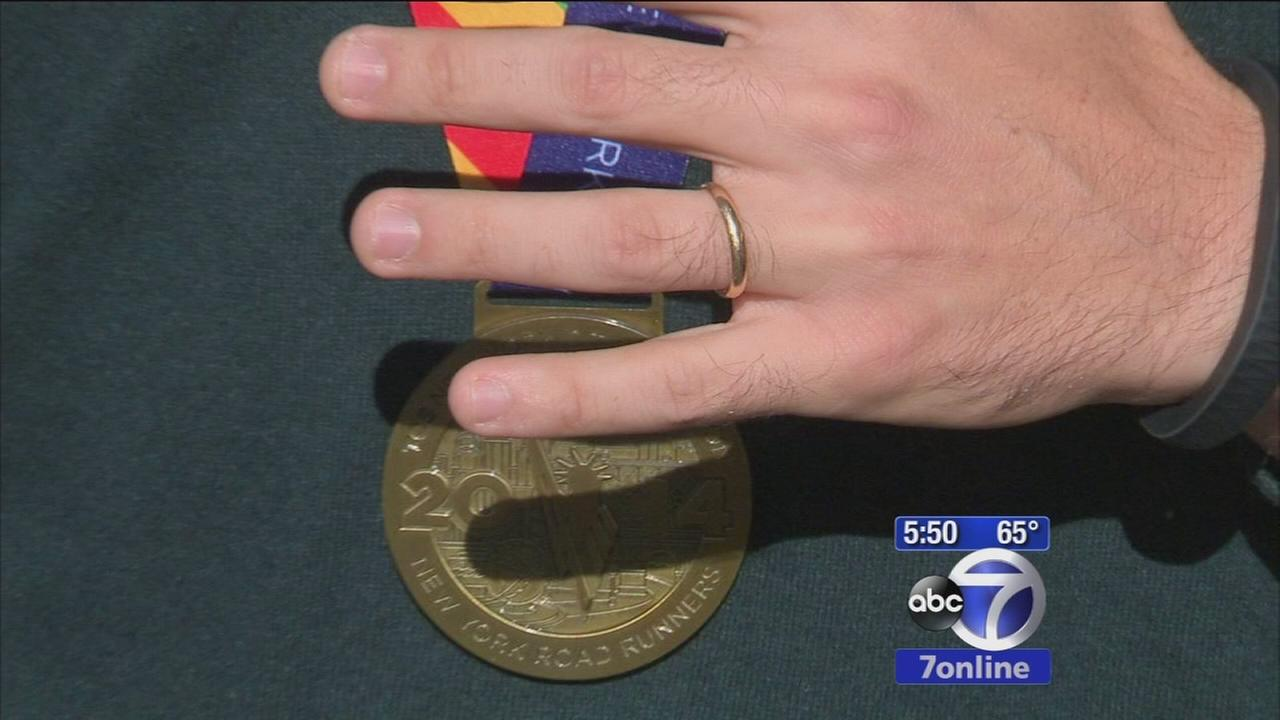 Runner recovers ring lost at TCS NYC Marathon
