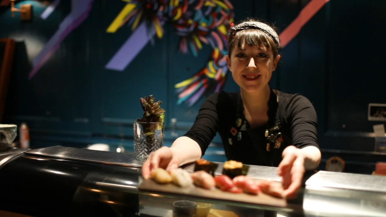 25-year-old art student becomes top sushi chef at sushi speakeasy