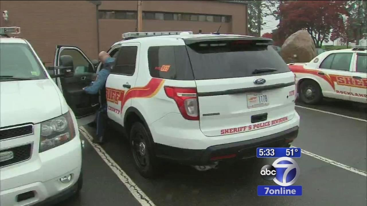 Protest over budget cuts in Rockland County