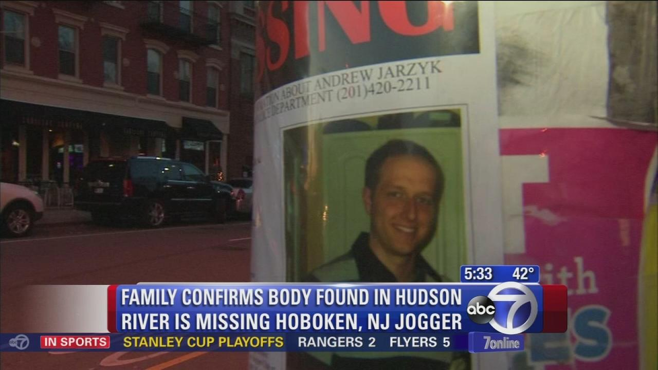 Body off Hoboken IDd as missing jogger