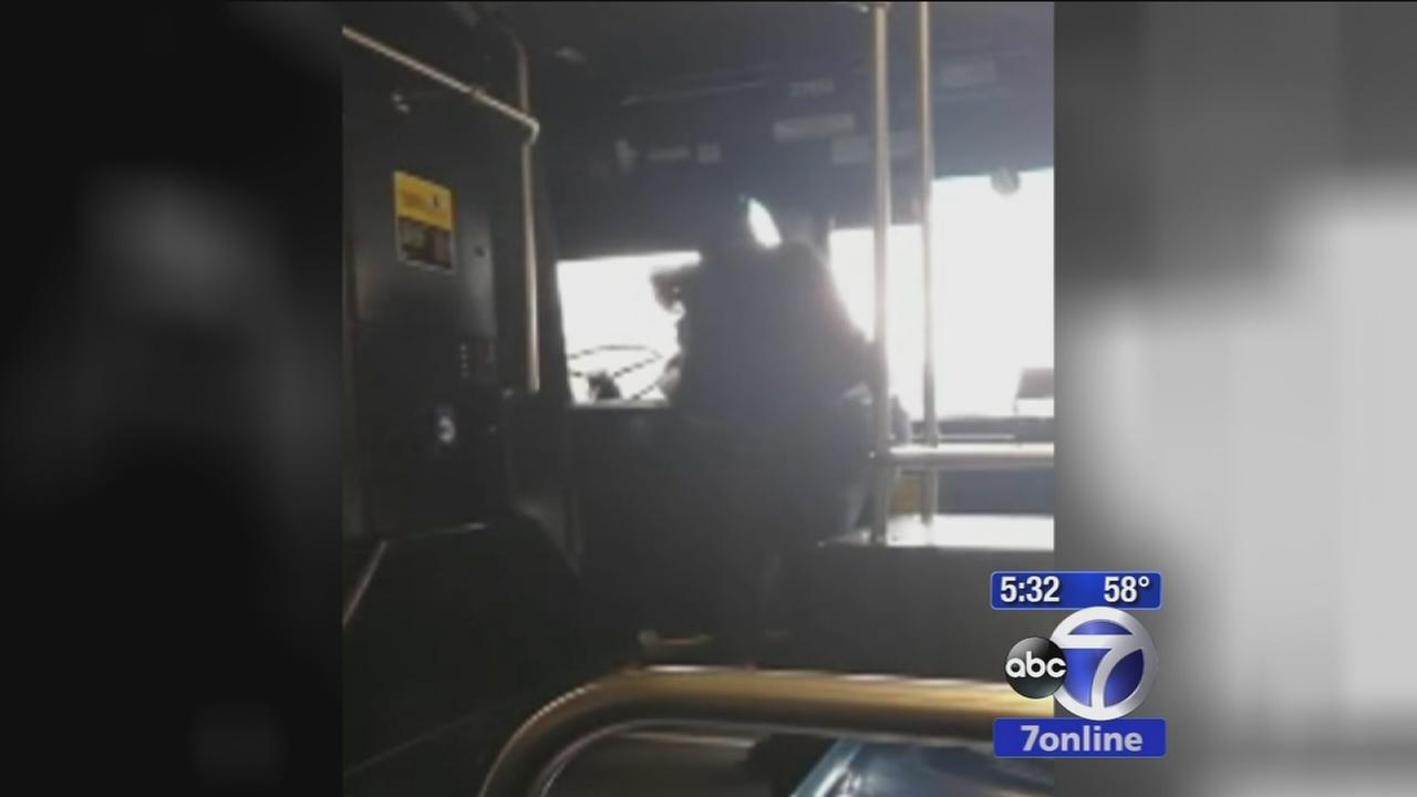 MTA bus driver suspended after fighting with teenage passenger