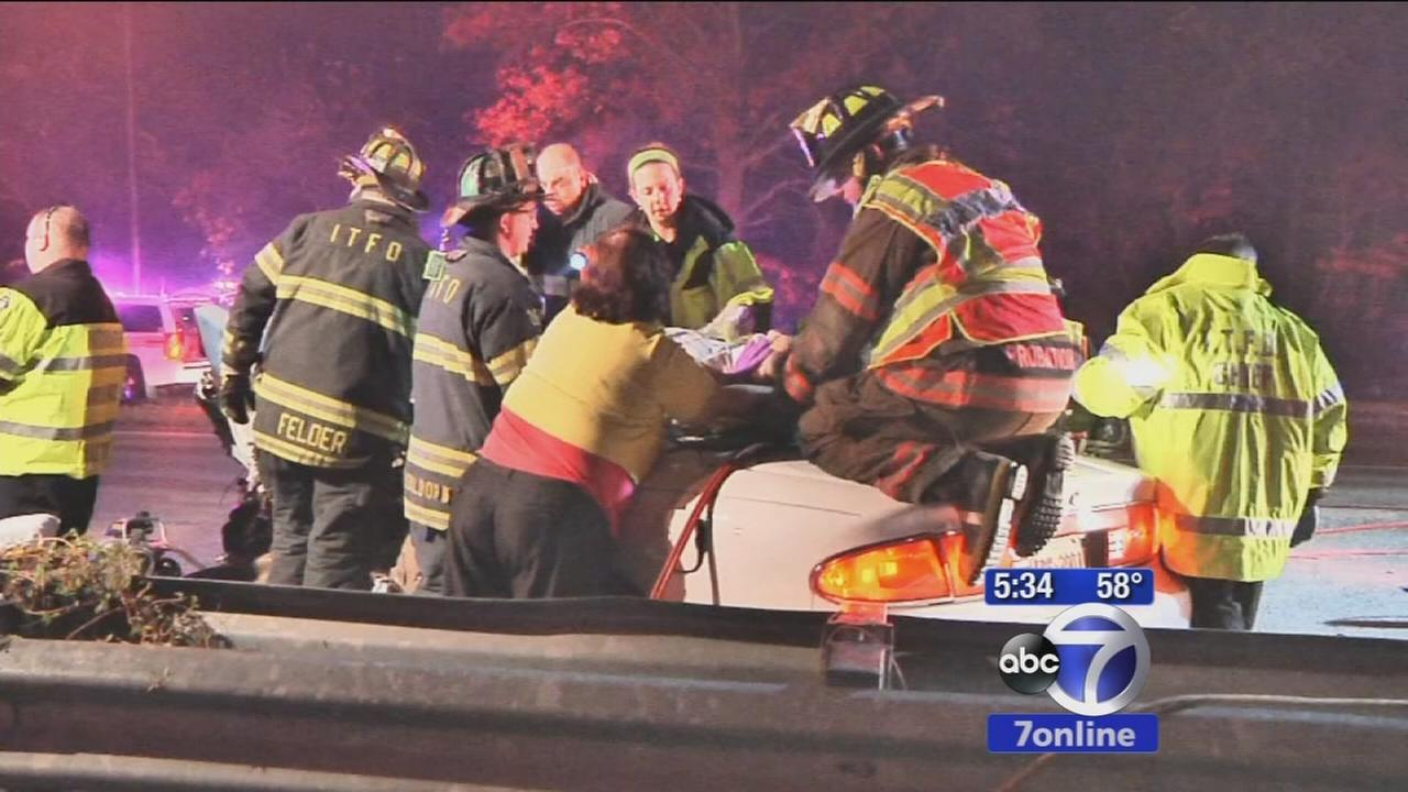 Driver killed in wrong-way crash on Long Island