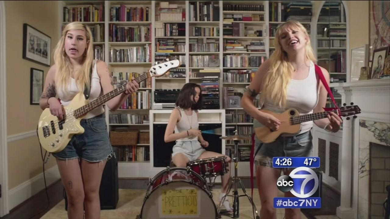 Girl band looks to hit it big with help from social media