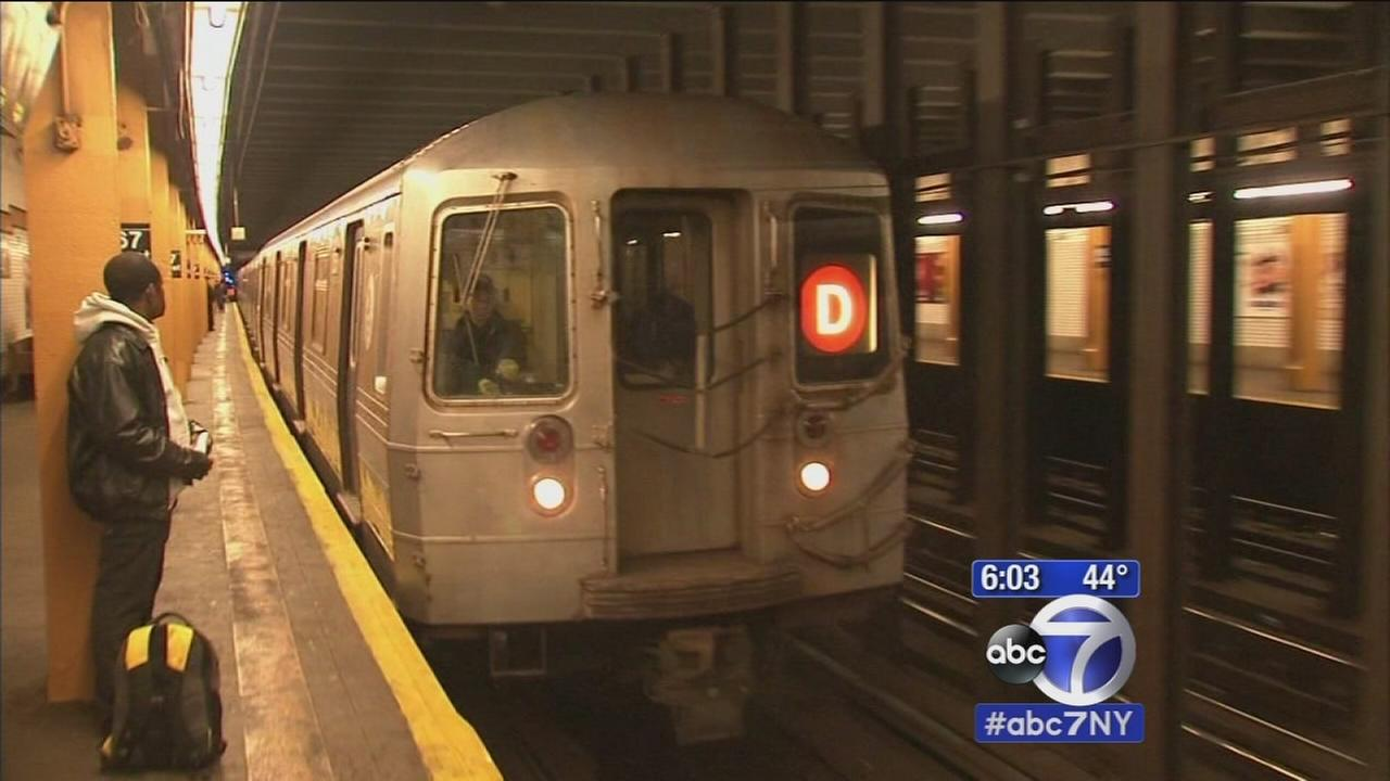 Man killed after being pushed onto subway tracks in front of wife