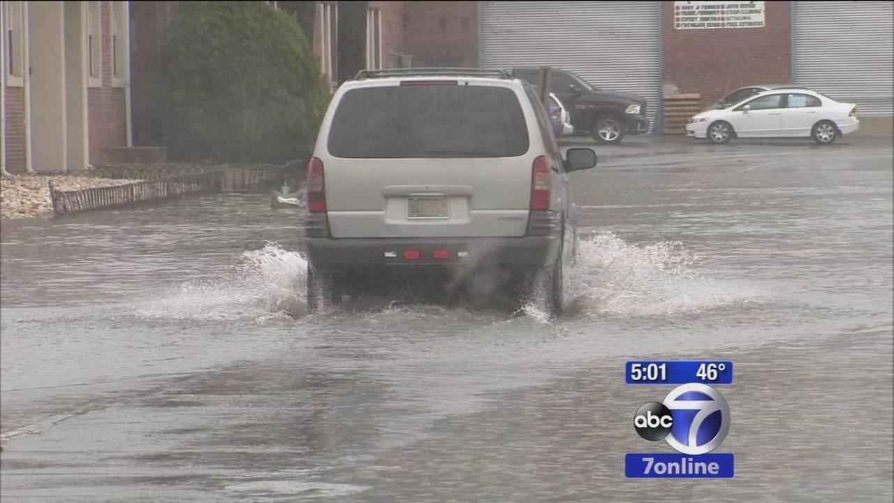 Flooding in Little Ferry, NJ