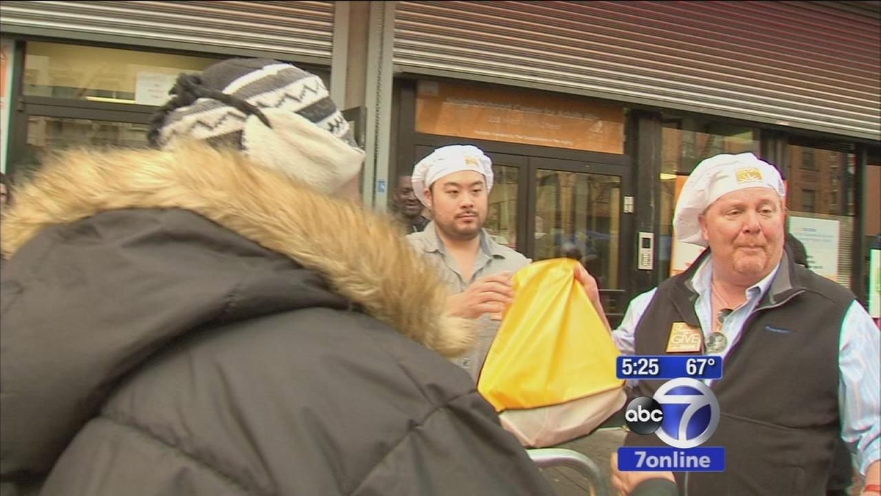 Donations are down at food banks ahead of Thanksgiving