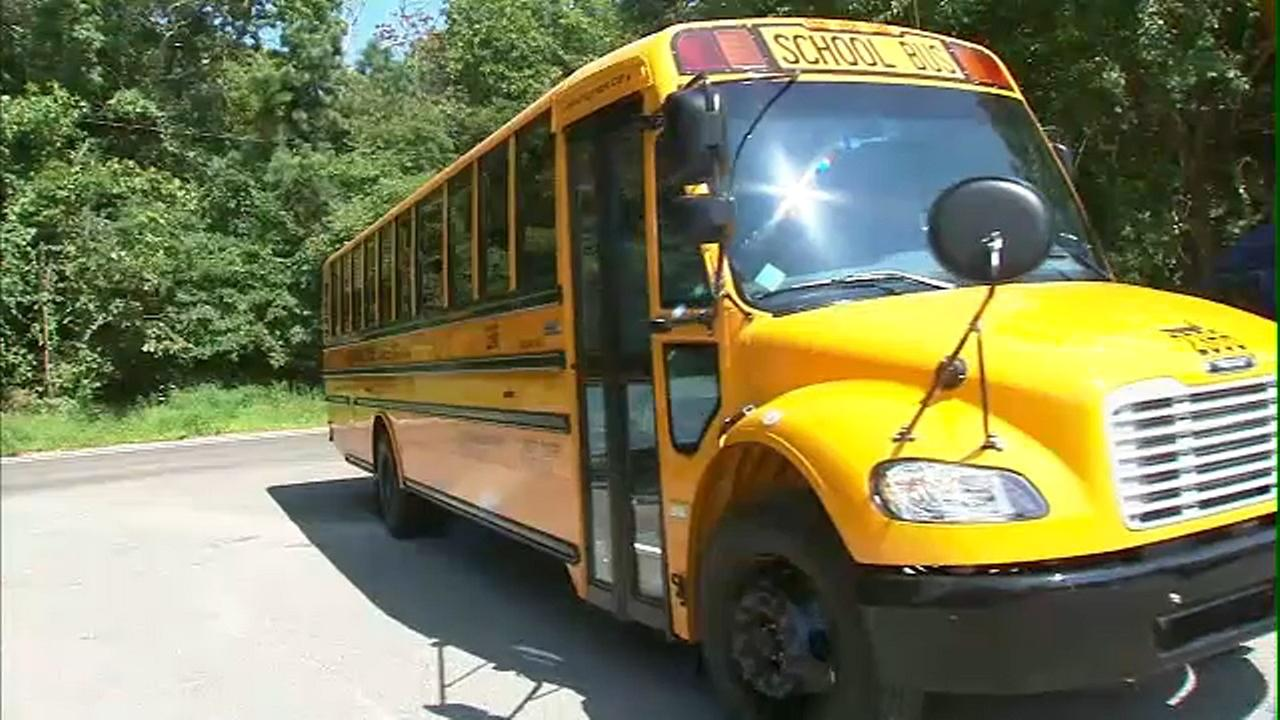 Long Island school district details plans amid school bus dispute