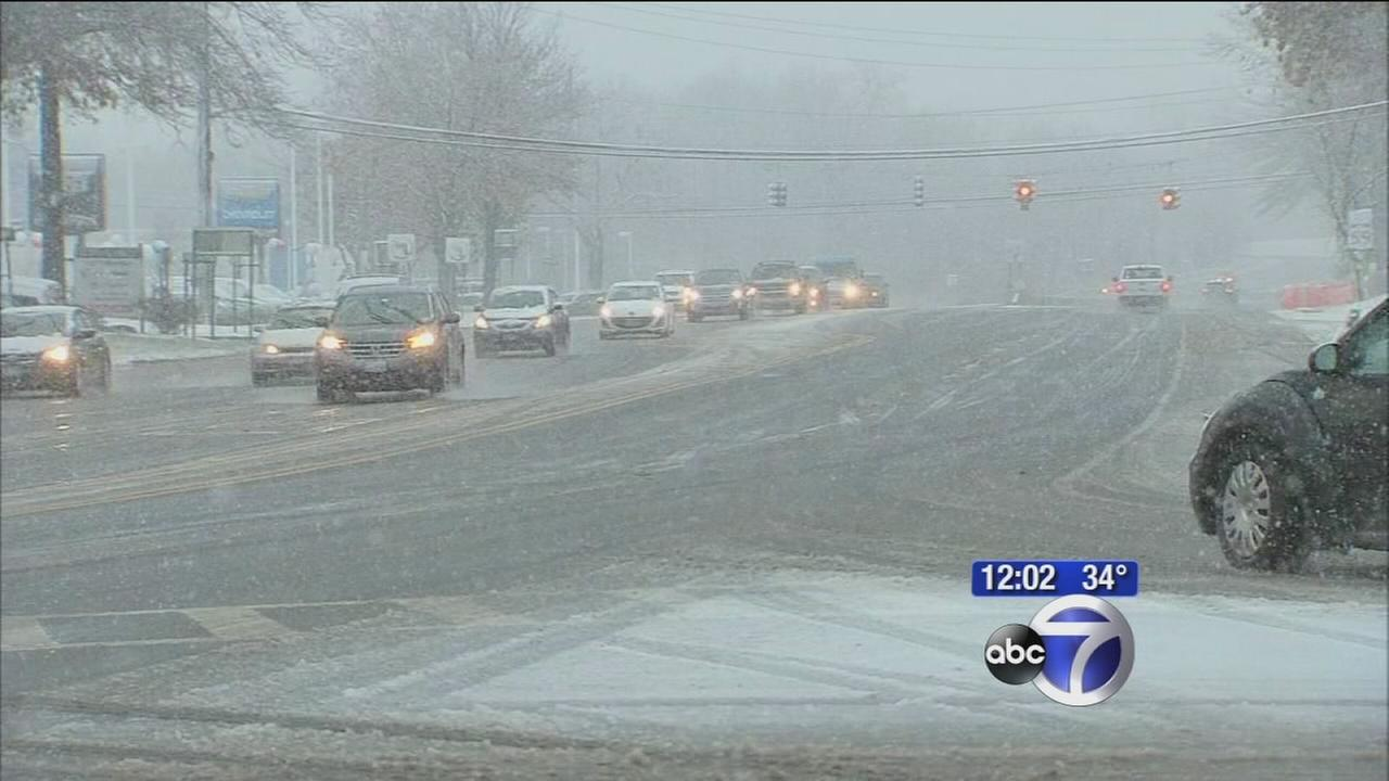 Winter weather starts to hit New Jersey, Rockland areas