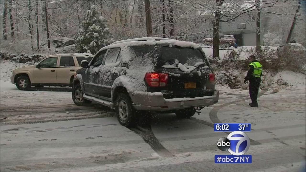 Snow conditions in Westchester