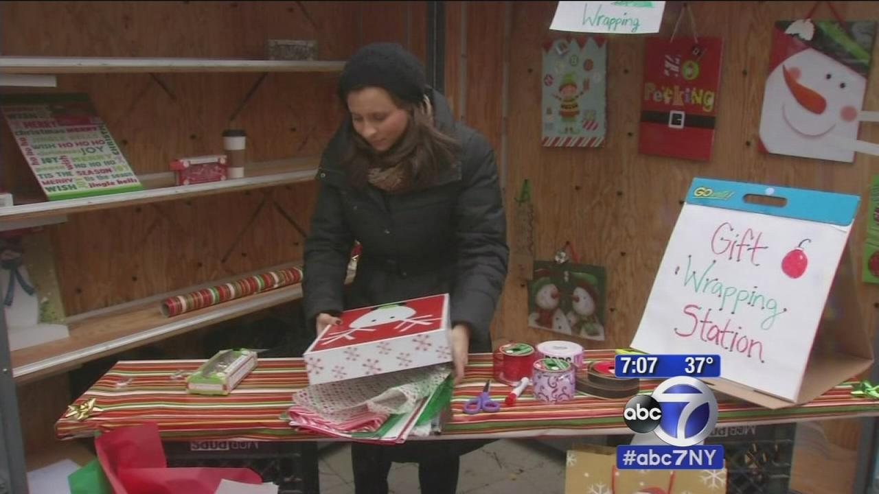 Local shoppers participating in Small Business Saturday