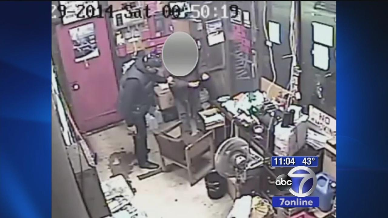 Gas station robbed in Brooklyn