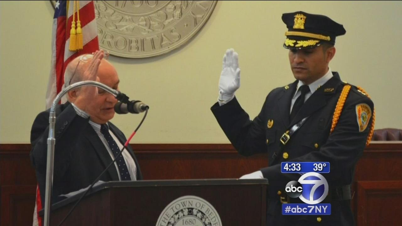 Westchesters first Hispanic police chief takes command